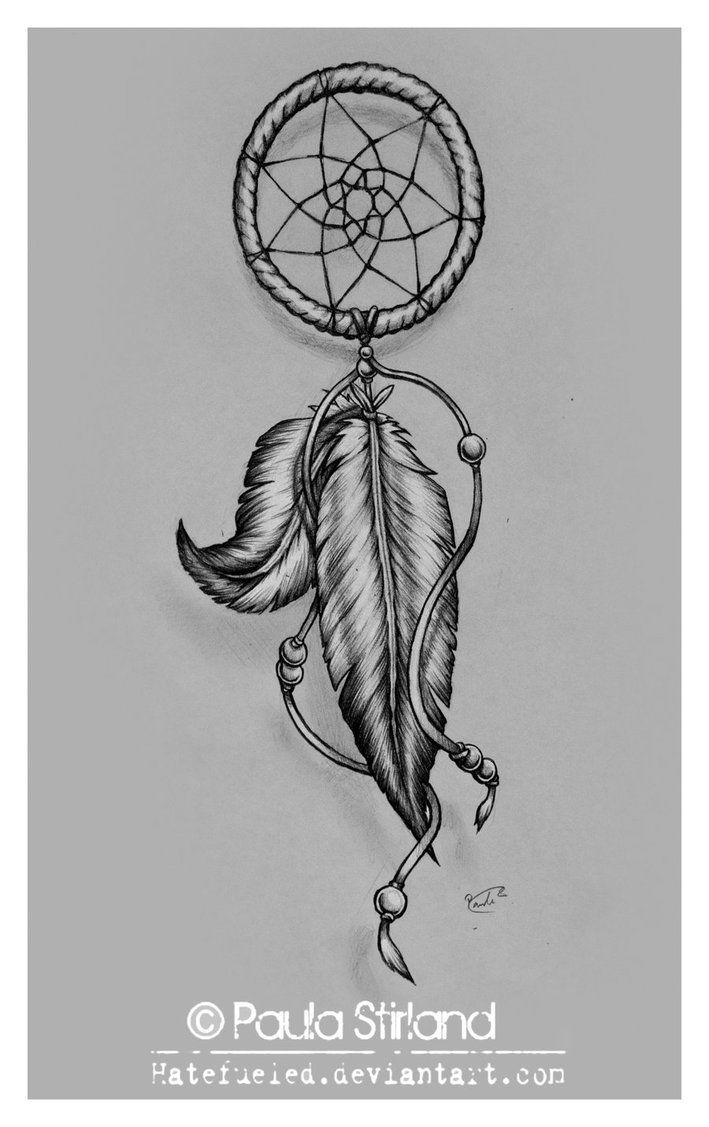 Simple Dream Catcher Tattoos Simple Dreamcatcher Tattoo Design 5