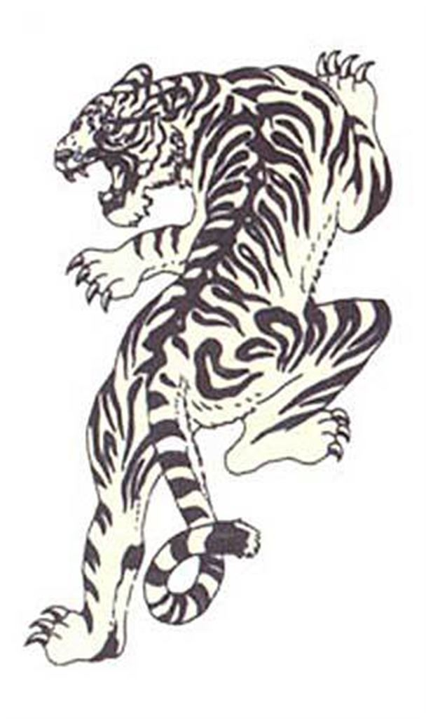 Simple Tiger Tattoos: 53+ Japanese Tiger Tattoos And Ideas
