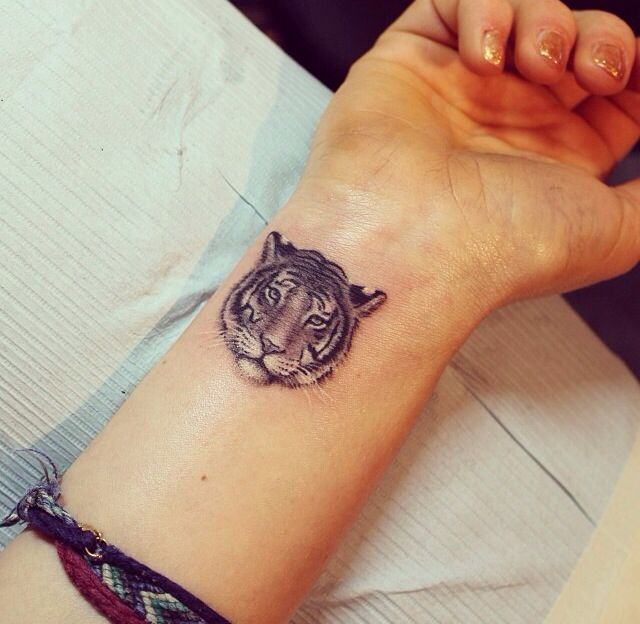 59 Tiger Face Tattoos Designs Ideas