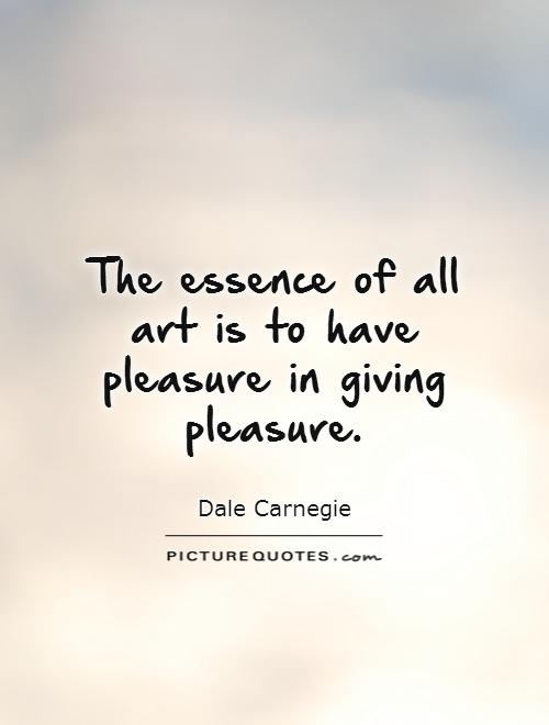 Have the pleasure of
