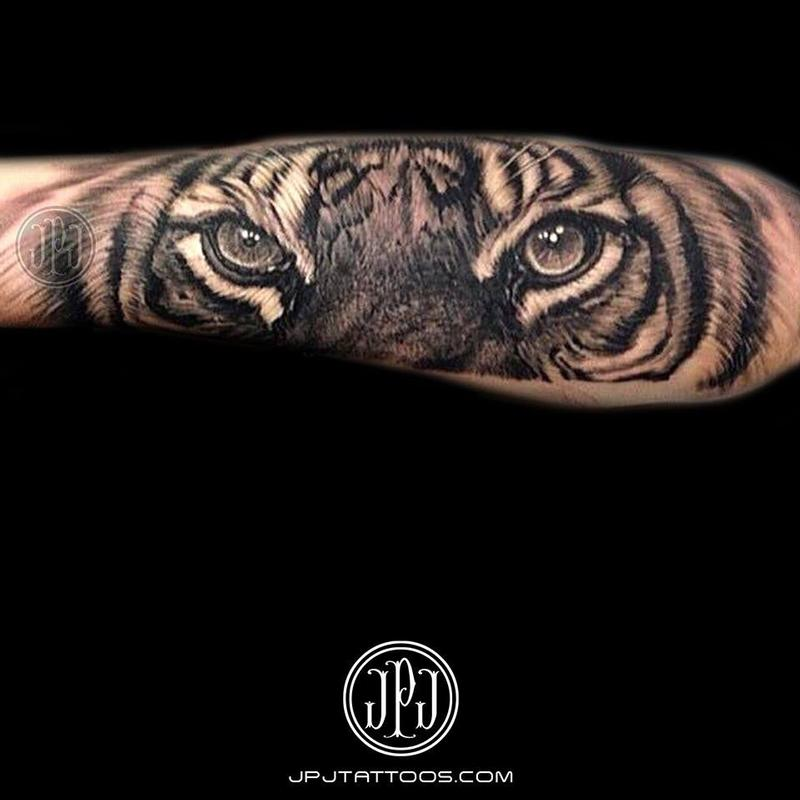 58 tiger eyes tattoos ideas