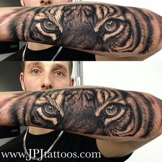 58 Tiger Eyes Tattoos Ideas