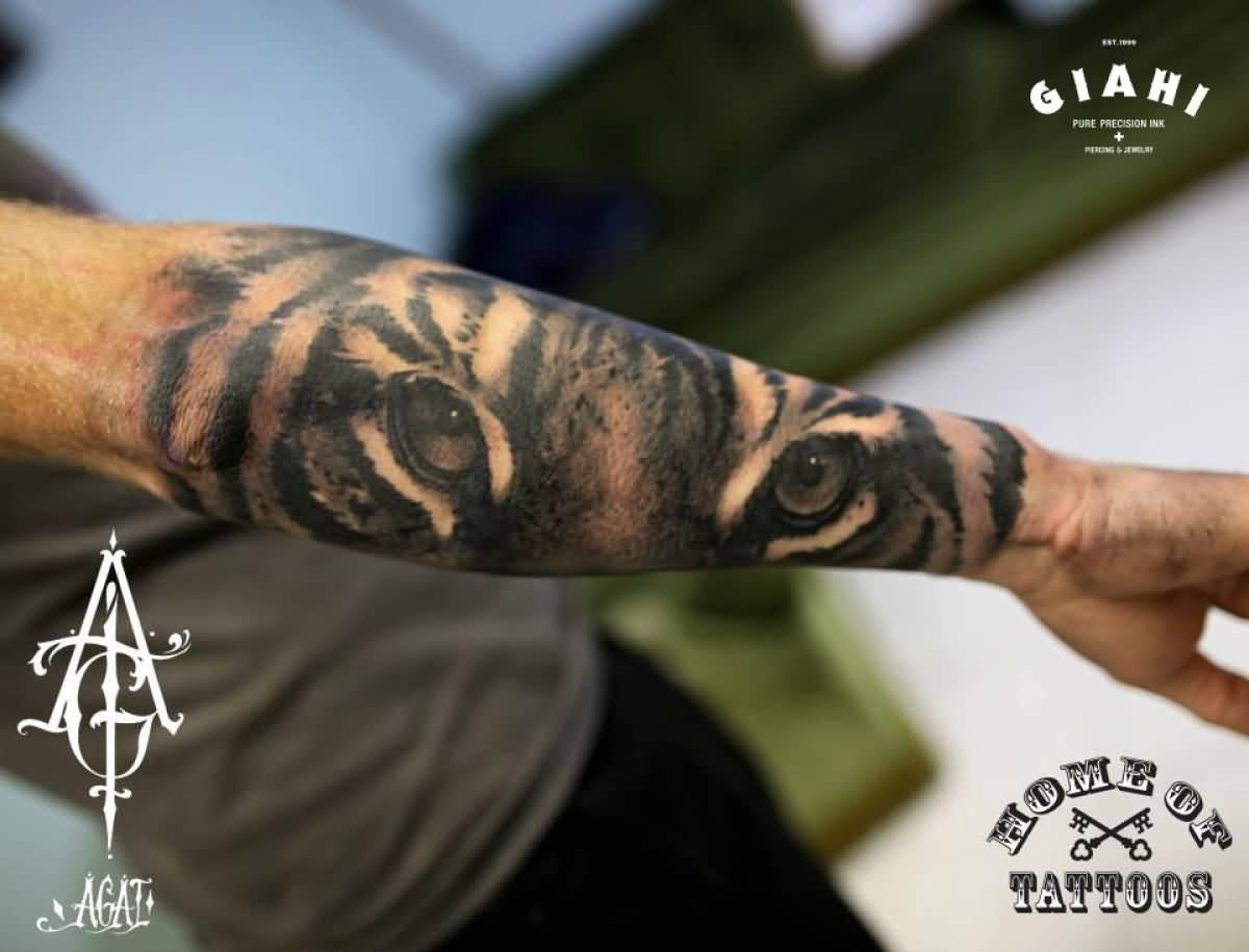 58+ Tiger Eyes Tattoos Ideas