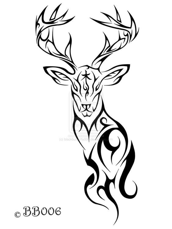 37+ Tribal Deer Tattoos Ideas And Designs