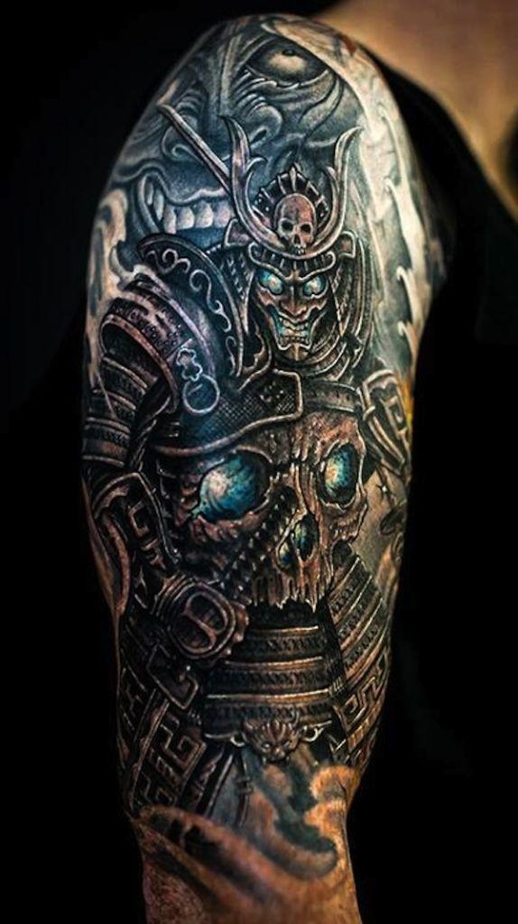 20 Samurai Tattoos Designs And Ideas