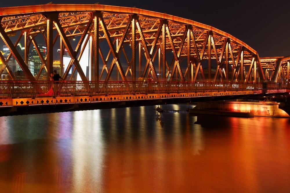 37+ Incredible Night View Pictures Of Waibaidu Bridge