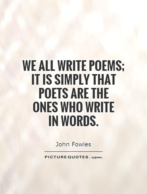 17 Poets' Quotes About Poetry | Mental Floss