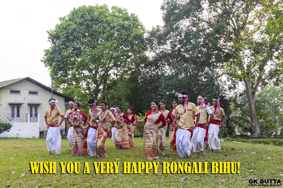 50 Most Beautiful Happy Bihu Greeting Pictures And Images