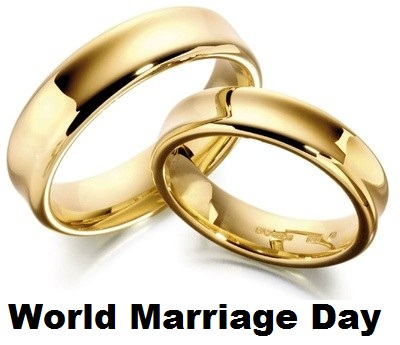 World Marriage Day Two Wedding Rings