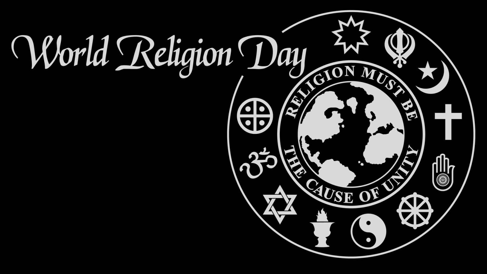 World Religion Day Symbols Of Religions Message Envelope