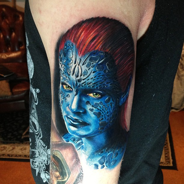 X Men X Tattoo X-Men Beast Tattoo On ...