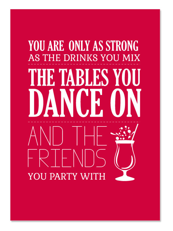 Friendship Quotes And Drinking: Famous quotes.