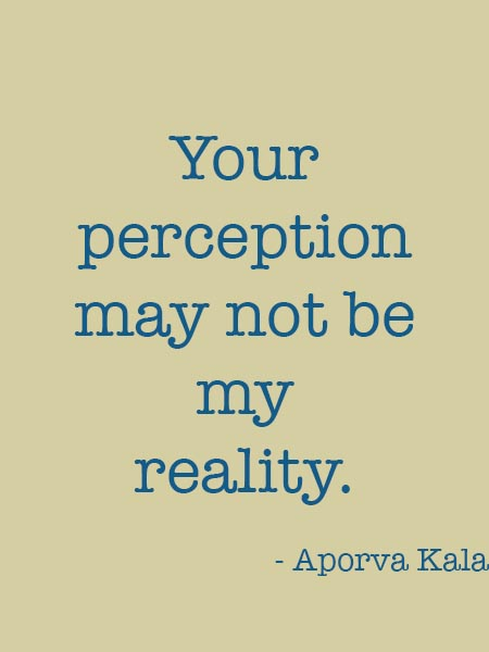 62 All Time Best Perception Quotes And Sayings