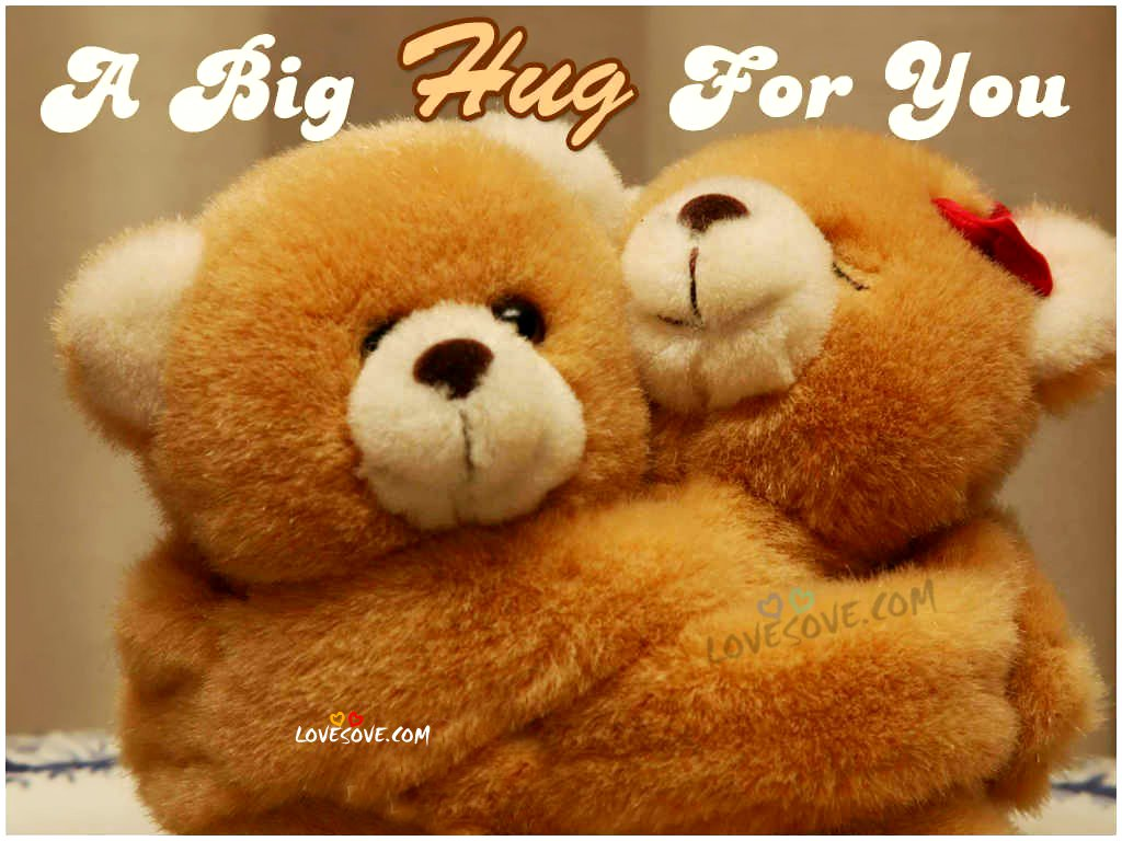 A Big Hug For You Happy Hug Day