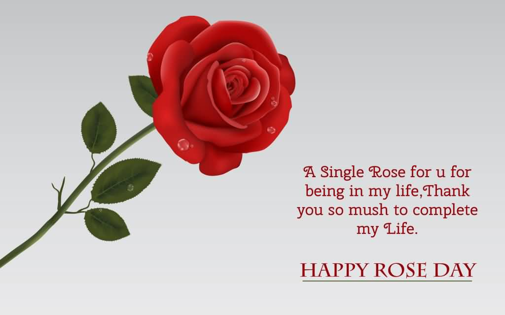 60 Adorable Rose Day 2017 Greeting Pictures And Images