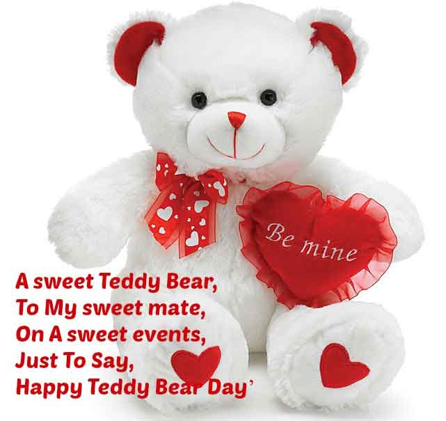 A Sweet Teddy Bear, To My Sweet Mate, On A Sweet Events, Just