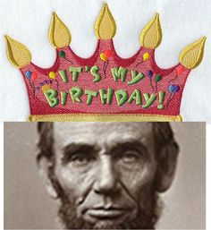 happy birthday abraham lincoln the 16th us president