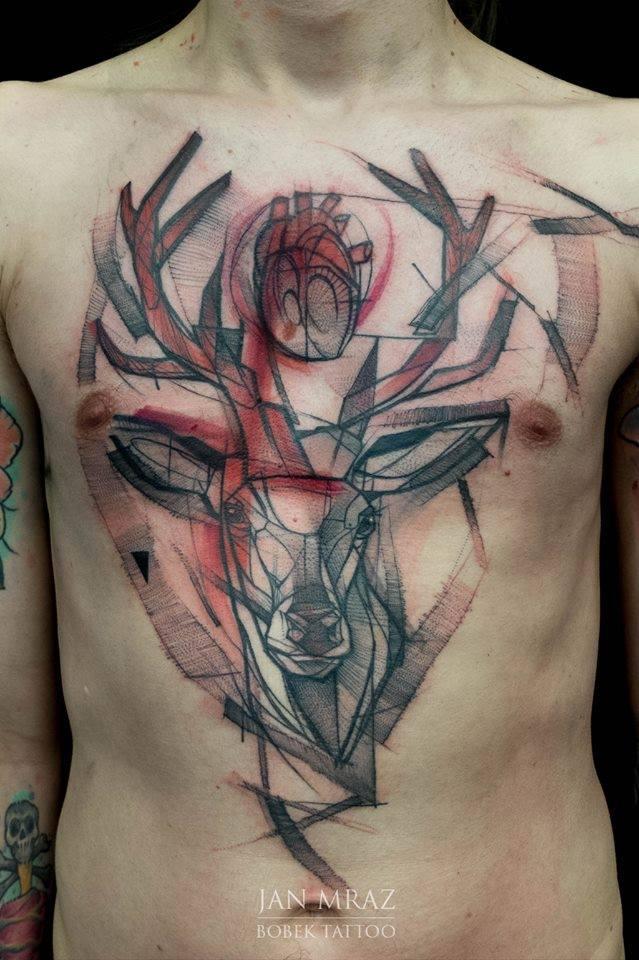 black ink dotwork wolf head tattoo on forearm. Black Bedroom Furniture Sets. Home Design Ideas