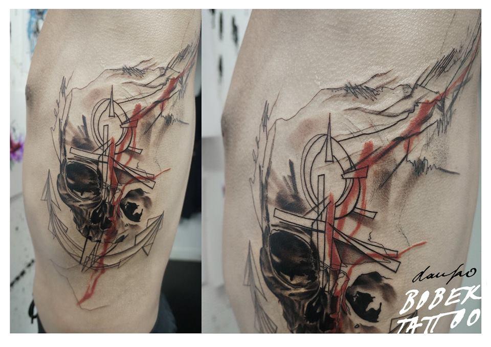 Compass Tattoo Line Drawing : Best anchor compass tattoos