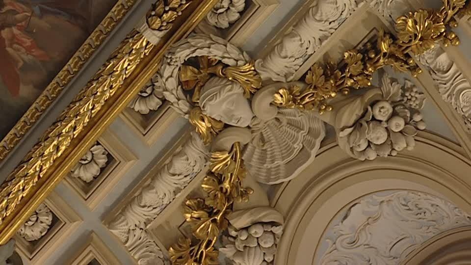 Amazing Interior Of Royal Palace Of Madrid