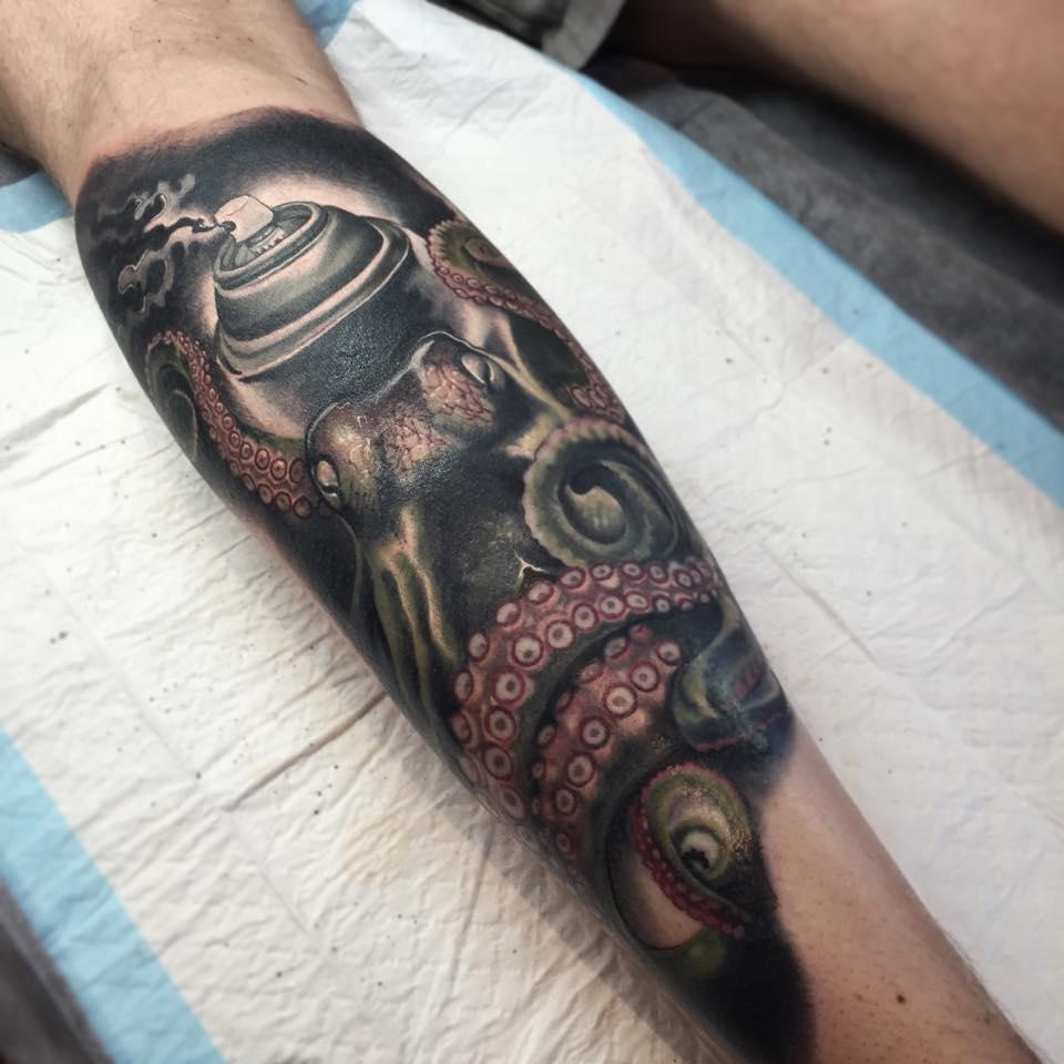 35 Cute Octopus Tattoos
