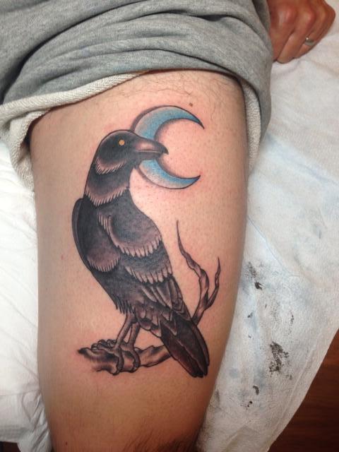 32 moon tattoo designs for Black moon tattoo