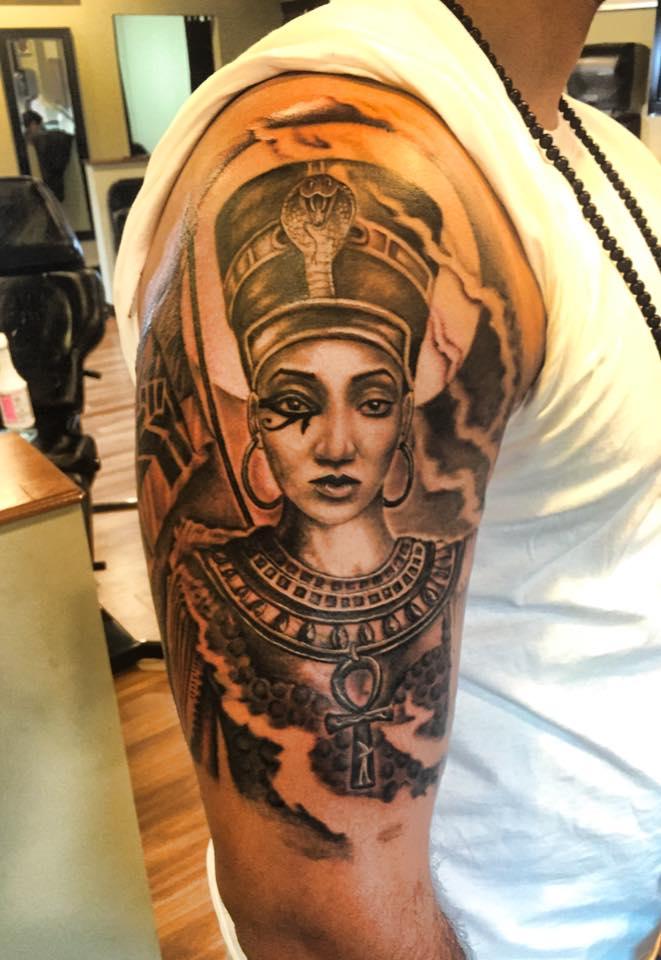 Egyptian tattoos for Black girl tattoos