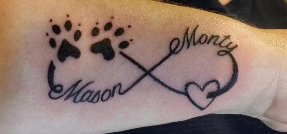 Paw Prints Tattoos - Askideas com
