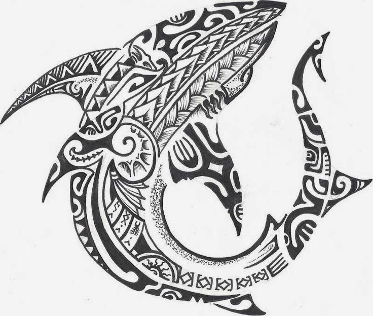 37 Maori Shark Tattoos Ideas And Collection