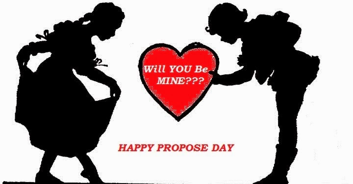 40 most beautiful propose day 2017 greeting cards - Boy propose girl with rose image ...