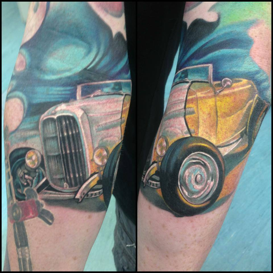 sovie tattoo cool cars - photo #27