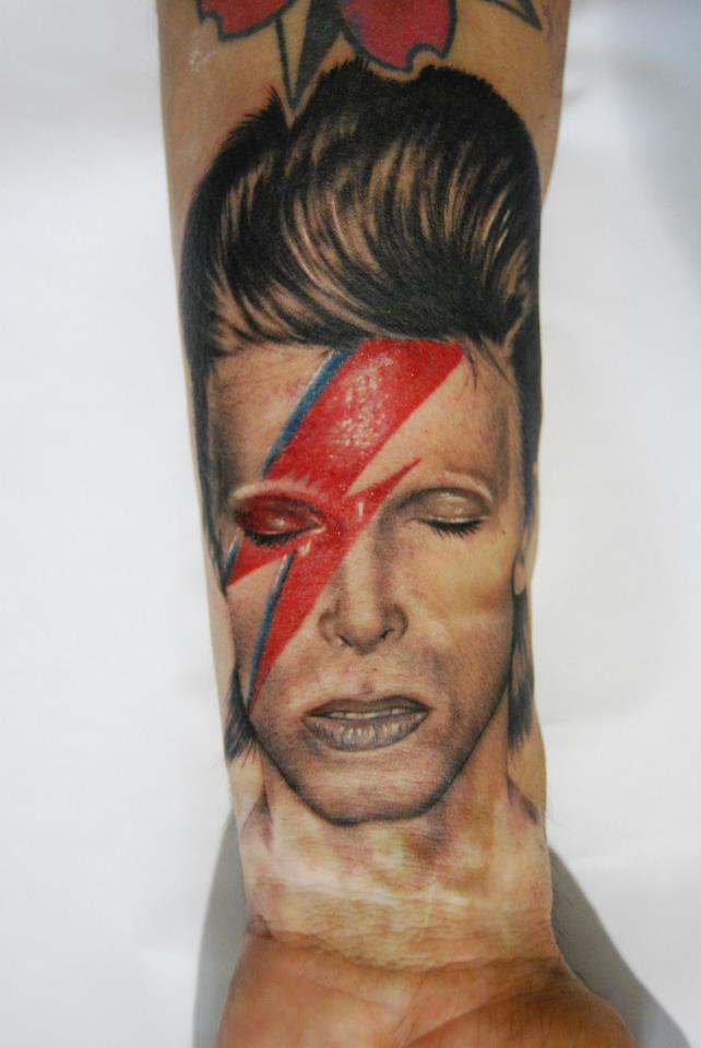 Wrist tattoos for David bowie tattoos