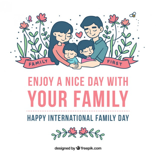 Enjoy A Nice Day With Your Family Happy International Family Day ...