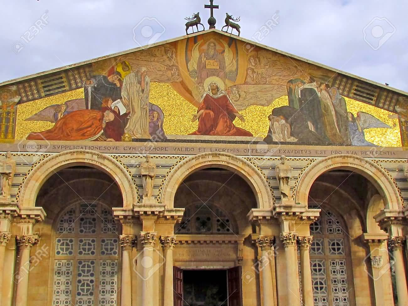65 most incredible pictures of church of all nations in for Facade decoration