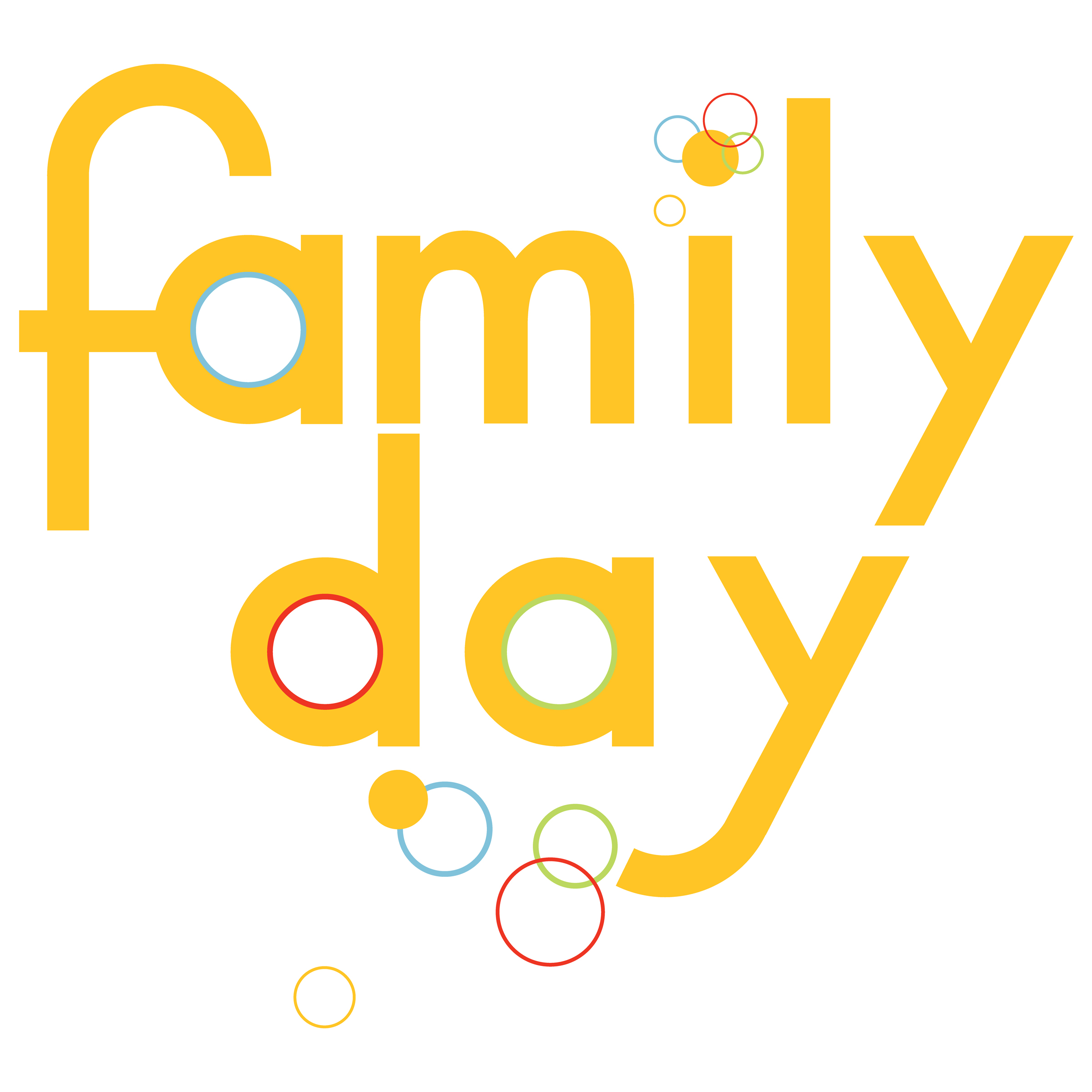 Family Day 2017 Greetings Clipart
