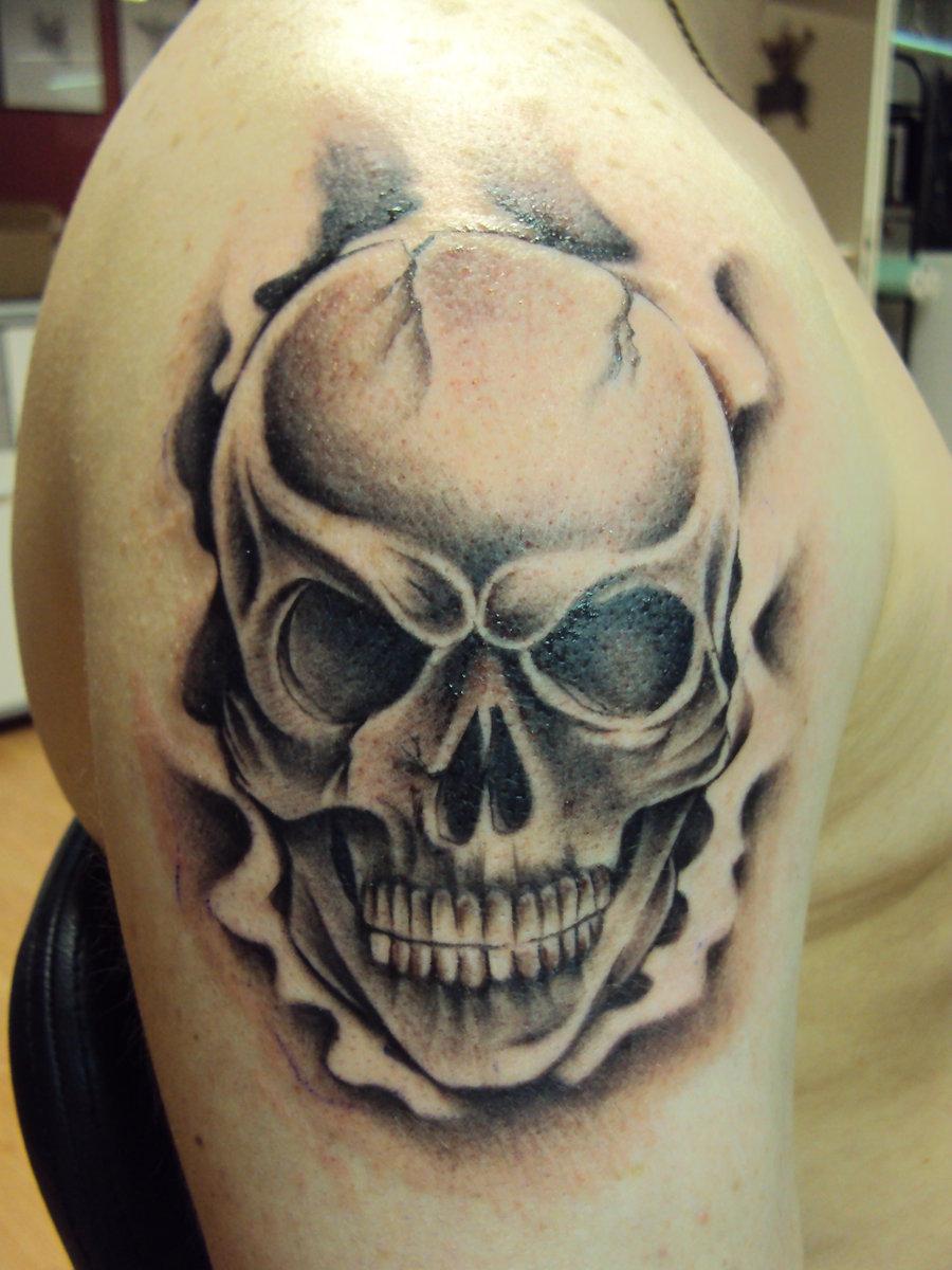 30+ Mind Blowing Skull Tattoos Ideas