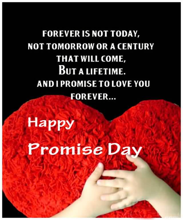Relationship Promise Quotes: 55 Most Beautiful Happy Promise Day 2017 Wish Pictures And