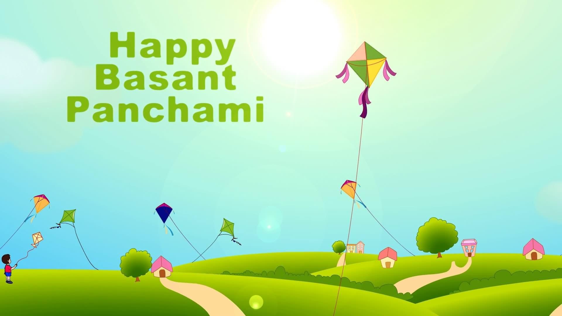 30 Beautiful Vasant Panchami Greeting Cards
