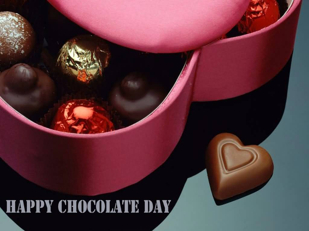 60+ Most Beautiful Happy Chocolate Day 2017 Wish Pictures