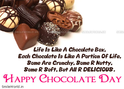 50 Happy Chocolate Day Wish Pictures And Images