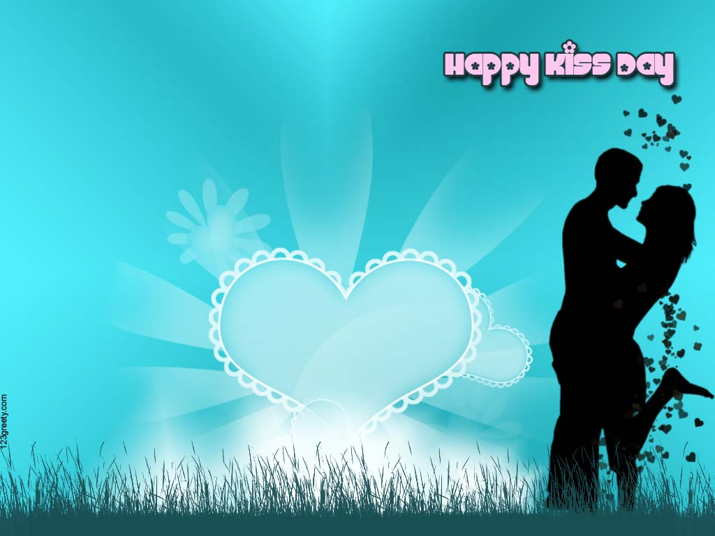 60 Beautiful Kiss Day Greeting Card Pictures