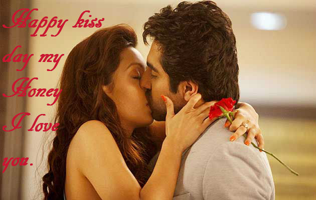 Love And Hot Kiss Wallpaper : 55 Happy Kiss Day Greeting Pictures And Images