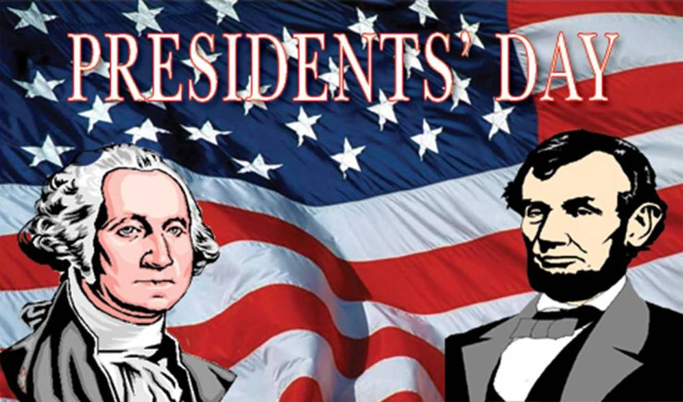Presidents Day 2017 George Washington And Abraham Lincoln Black ...