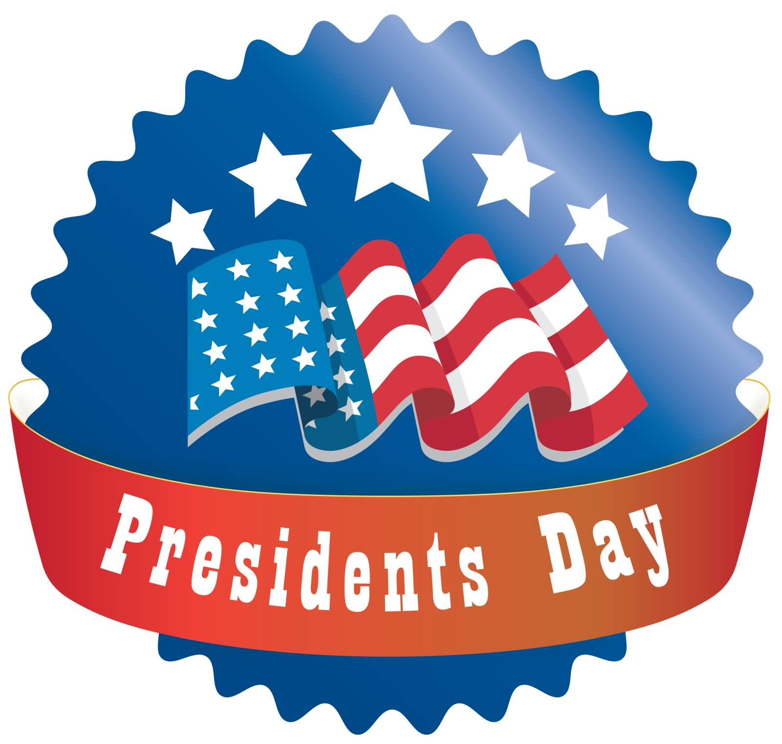 happy presidents day american flag illustration rh askideas com presidents day clip art 2018 presidents day clip art pictures