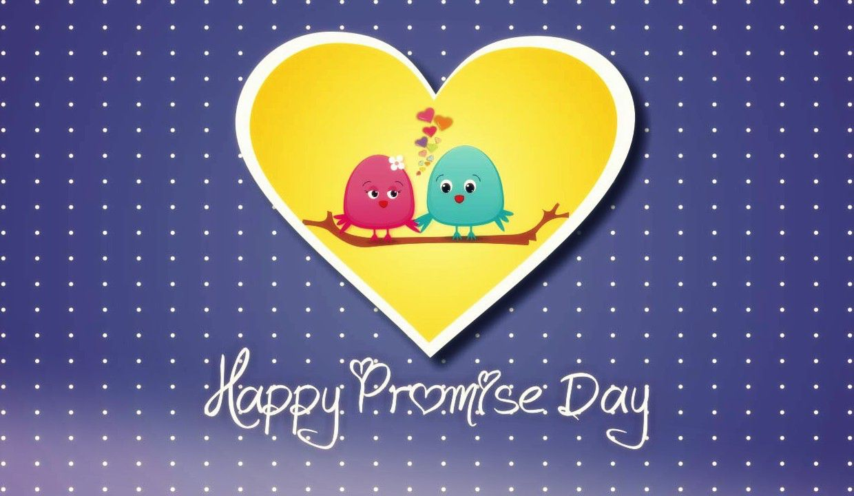 50 best happy promise day 2017 greeting pictures happy promise day 2017 love birds greeting ecard kristyandbryce Image collections