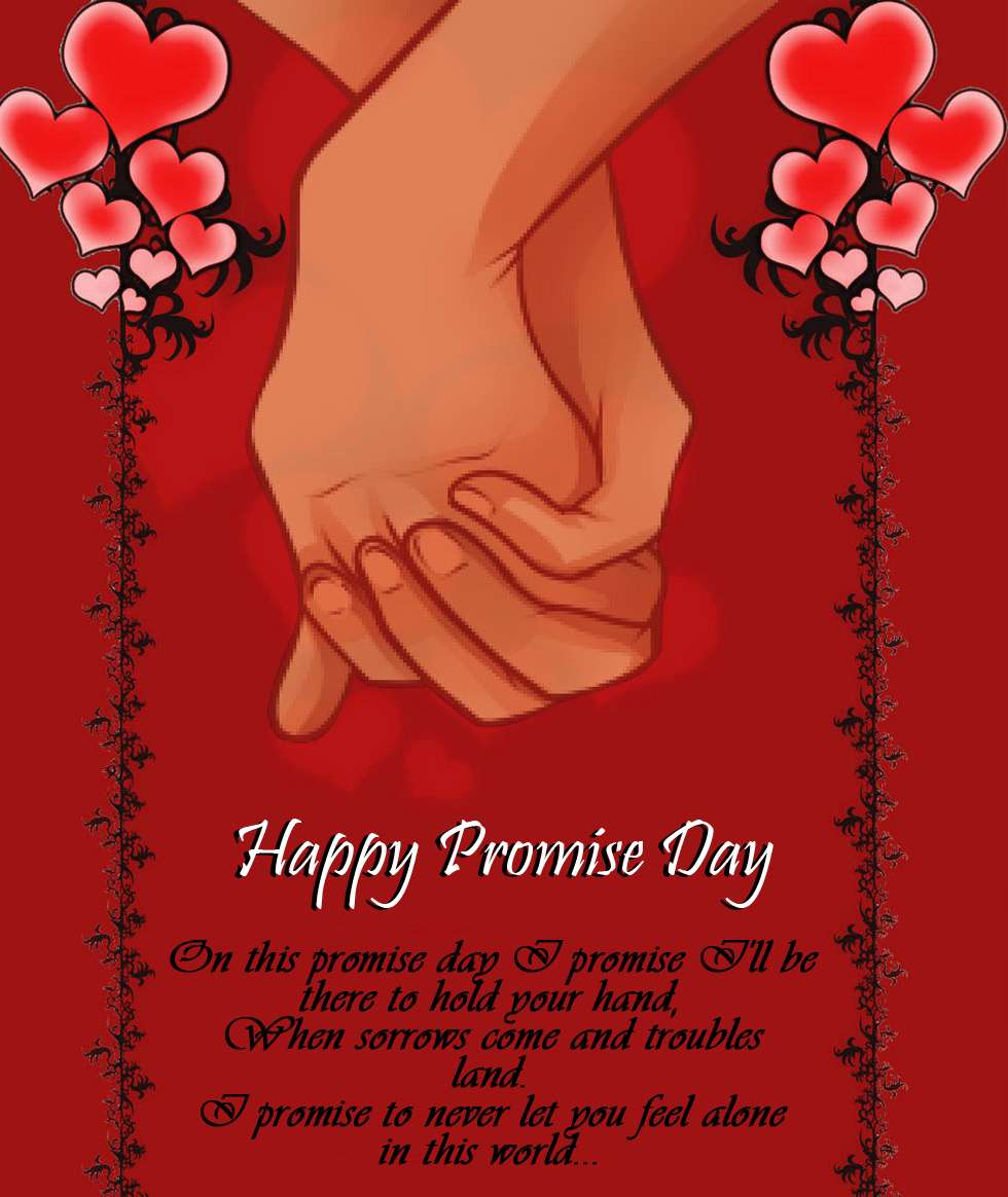 30 beautiful promise day greeting cards happy promise day hand in hand greeting card kristyandbryce Image collections