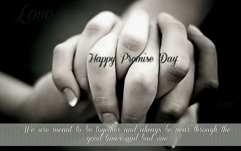 Happy Promise Day Hand In Hand