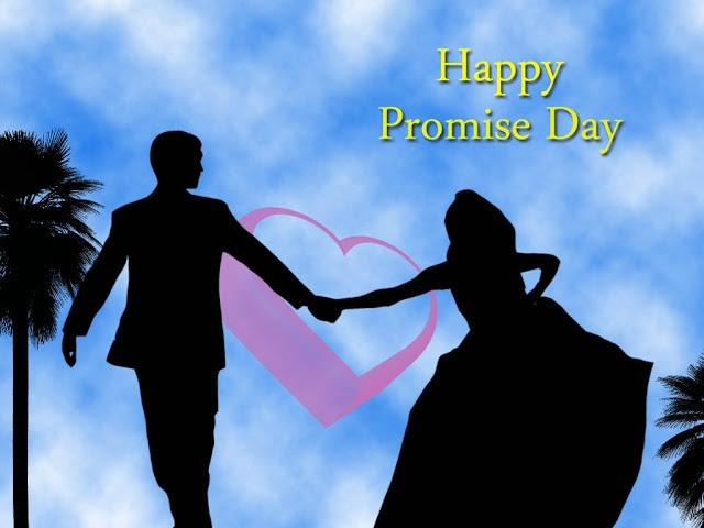 Happy Promise Day Love Couple Hands In Hand