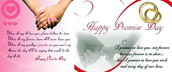 Happy Promise Day Quotes For Friends: 30 Beautiful Promise Day Greeting Cards