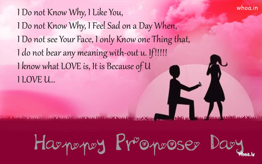 Happy Propose Day Facebook Cover Picture
